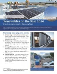 Renewables on the Rise 2020